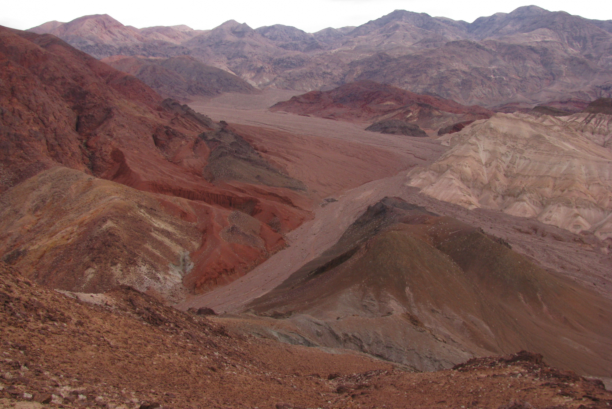 The colors of Copper Canyon near Badwater